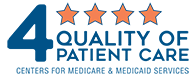 Centers for Medicare and Medicaid Services 4-Star Quality of Patient Care Rating