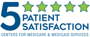 Centers for Medicare and Medicaid Services 5-Star Patient Satisfaction Rating