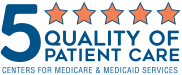 Centers for Medicare and Medicaid Services 5-Star Quality of Patient Care Rating